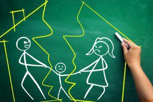 Divorce with children, parenting