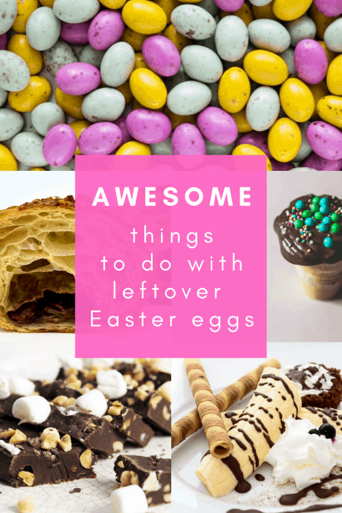Awesome ways to use up leftover #Easter eggs