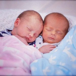 surviving twin babies