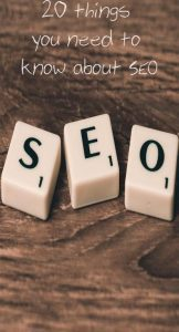 The word SEO spelt out in scrabble letters