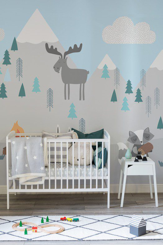 nursery wall murals