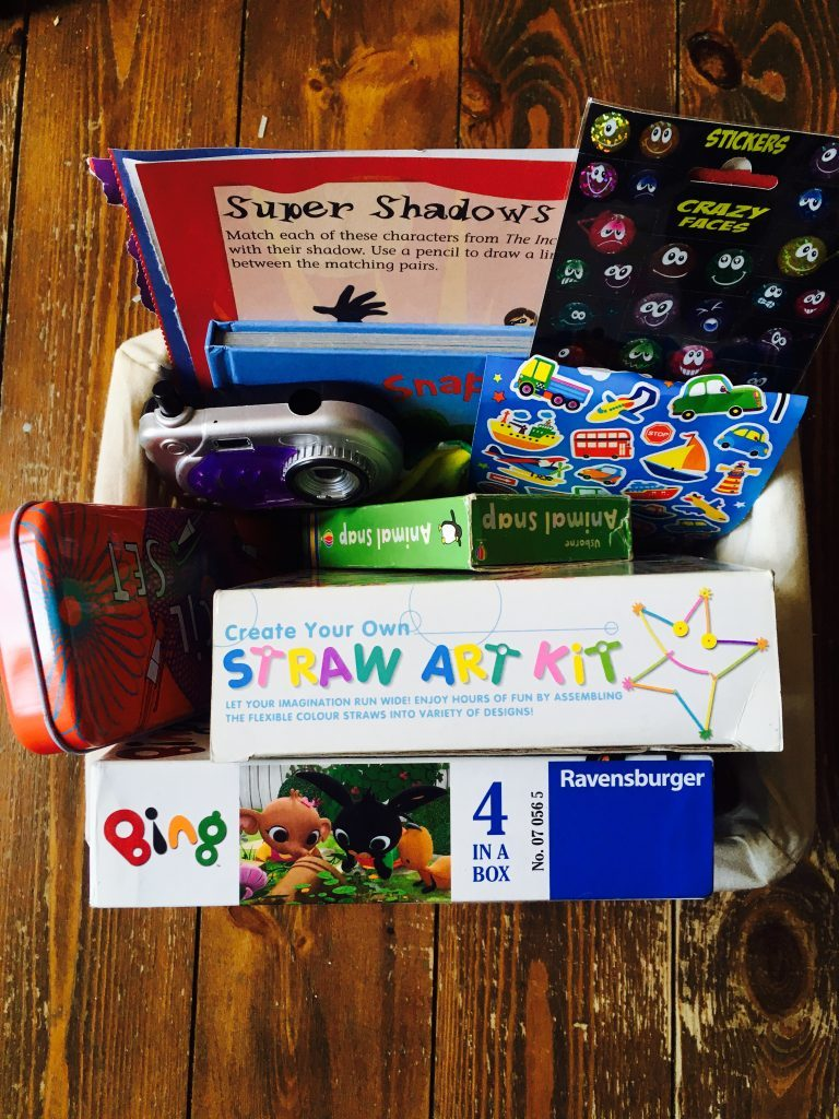 busy box activities for preschooler quiet time play