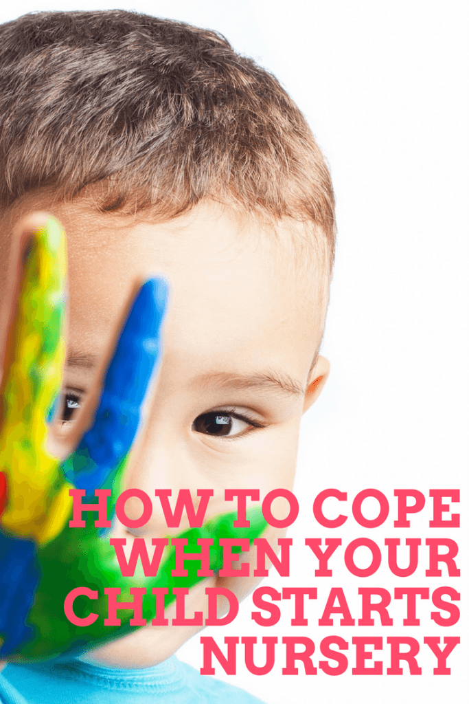 how to cope when your child starts nursery