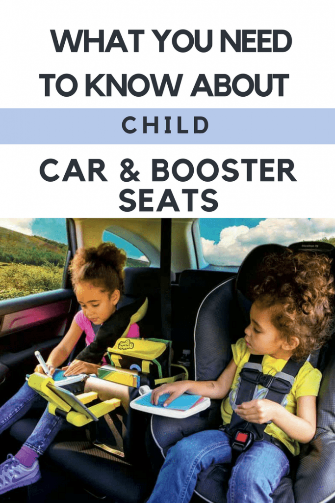 What you need to know about child car and booster seats