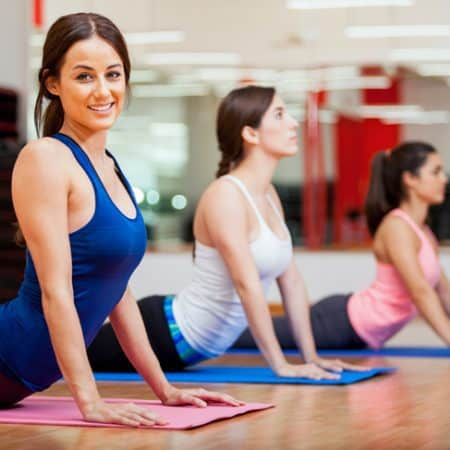 easy yoga moves for busy mums