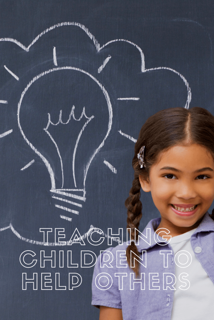Teaching children to help others