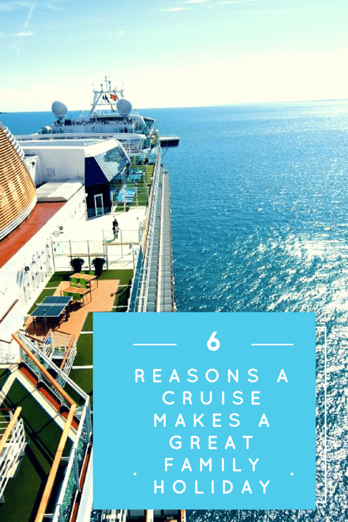 6 reasons a cruise makes a great family holiday
