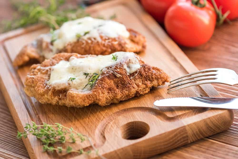 Chicken Parmigiana with Mashed Potatoes_1