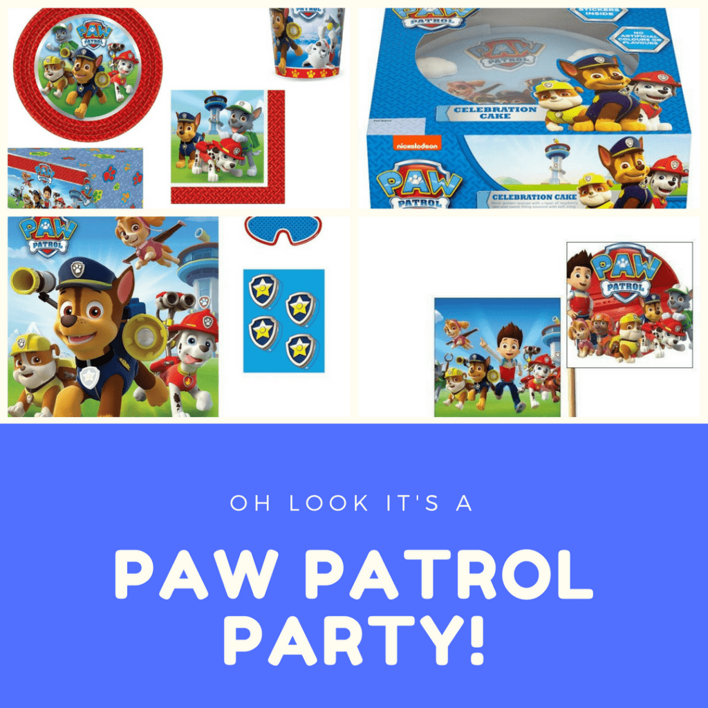 How to hold an easy, no-fuss, Paw Patrol birthday party on a