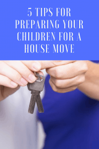 5 tips for preparing your children for a house move