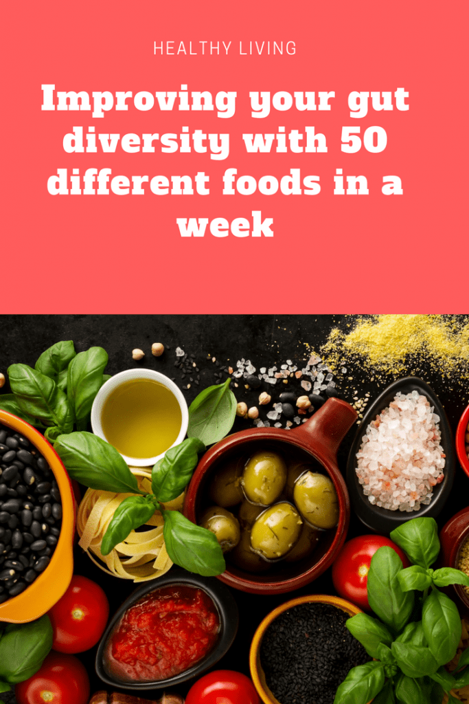 Improving your gut diversity with 50 different foods in 7 days