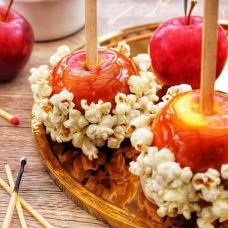 Easy Salted Caramel Toffee Apple