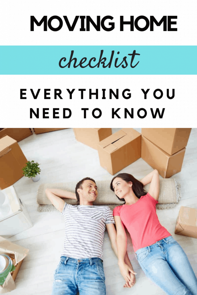 A moving home checklist - everything you need to know