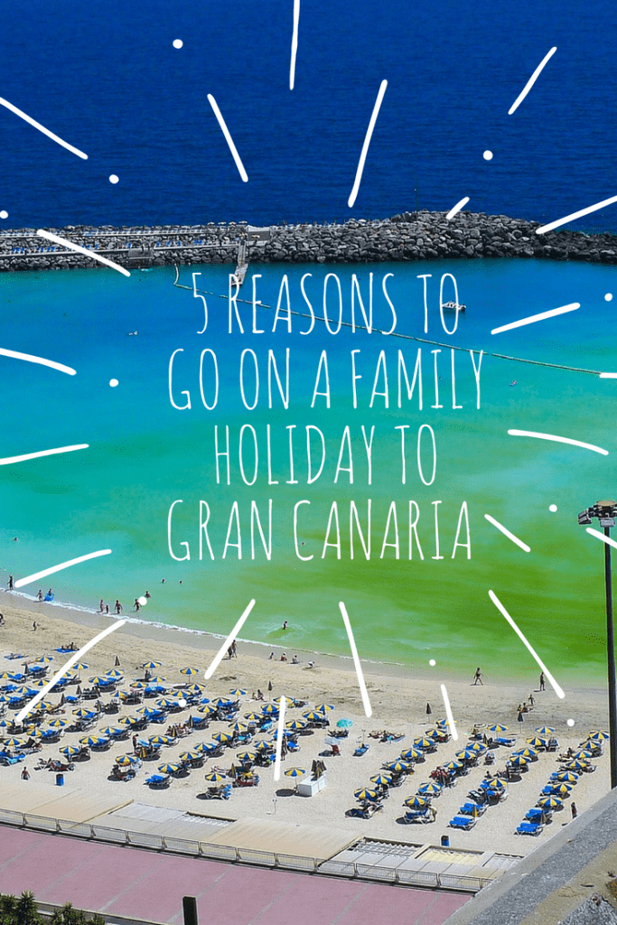 5 reasons to go on a family holiday to Gran Canaria