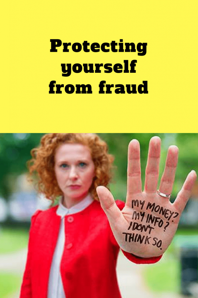 Protecting yourself from fraud - everything you need to know