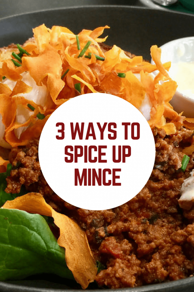 3 ways to spice up mince