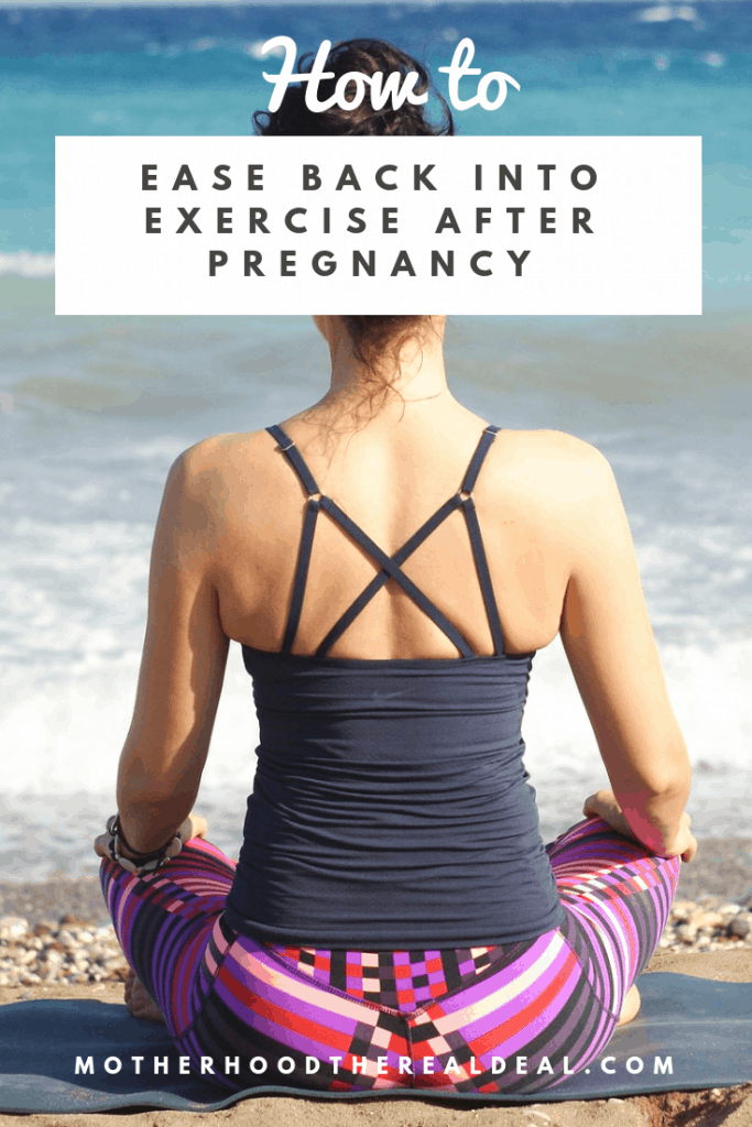 How to ease back into exercise after pregnancy #maternity #postpartum