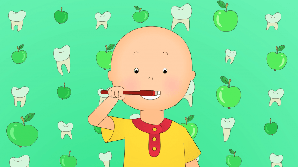 Reasons to love Caillou + a #giveaway