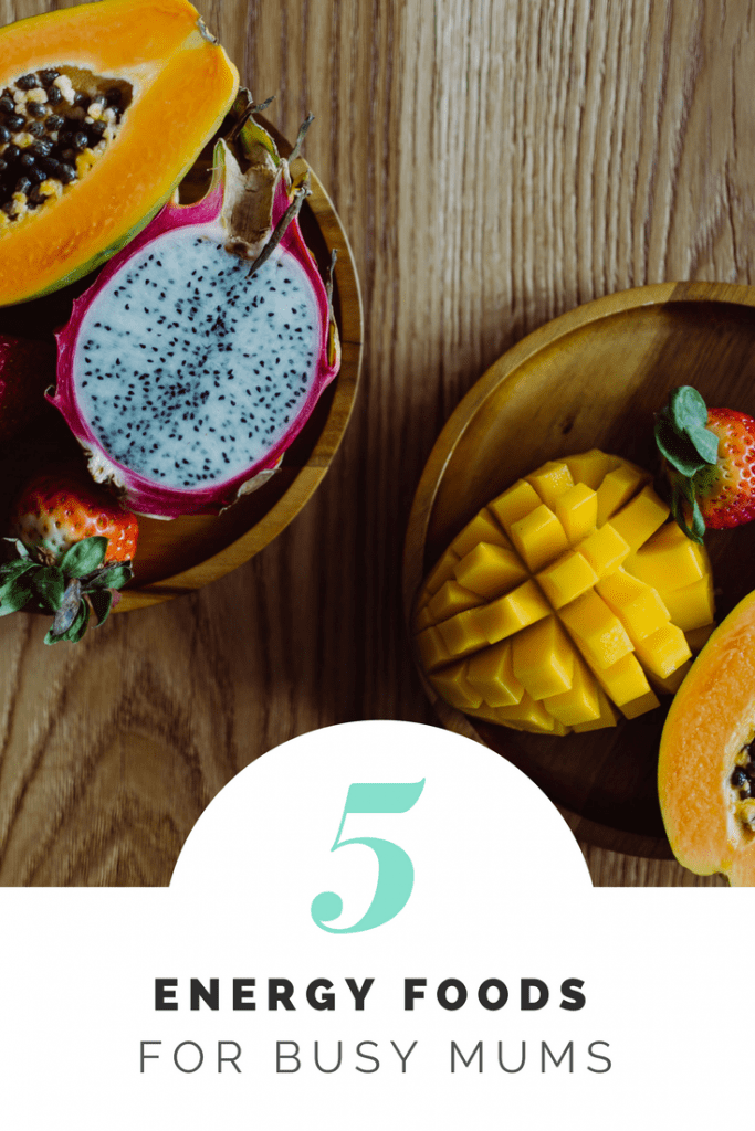 5 energy foods for busy mums