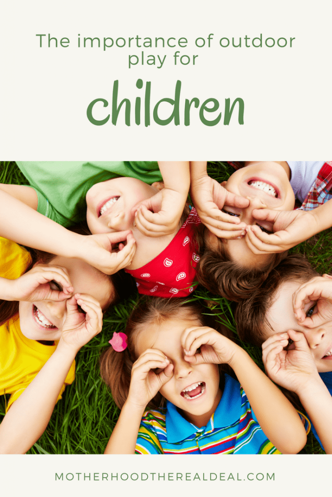The importance of outdoor play for children