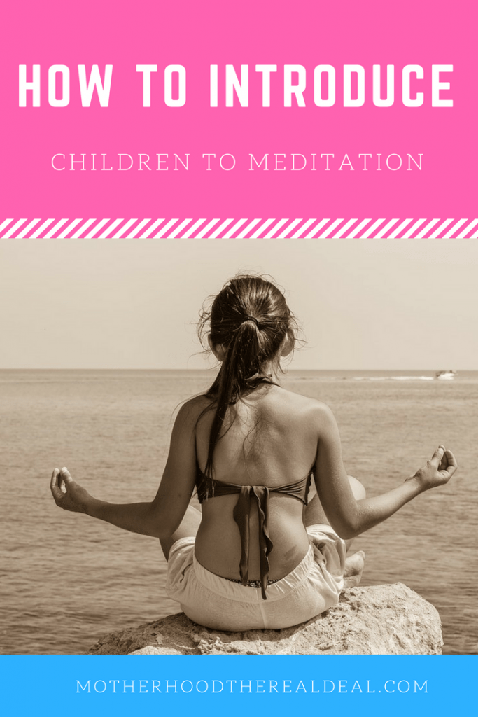 How to introduce your child to meditation