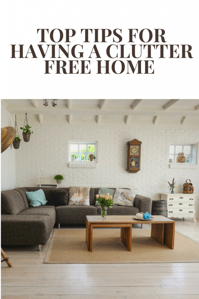 15 + top tips for having a clutter free home (with a family!)