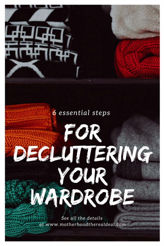 6 essential steps to decluttering your wardrobe
