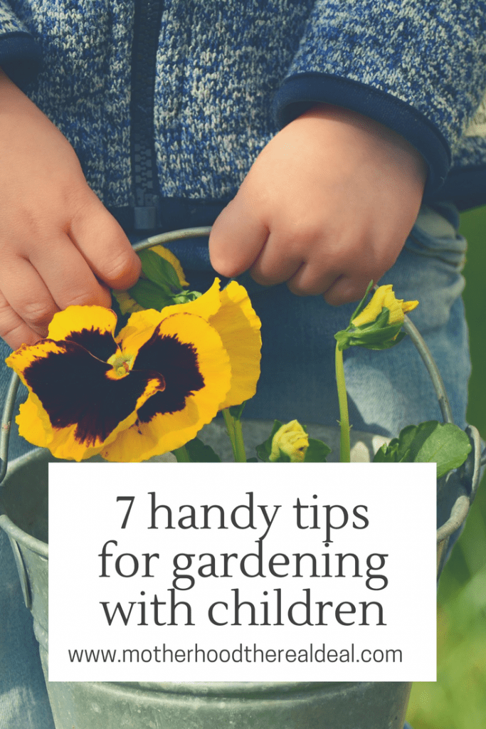 7 handy tips for gardening with children