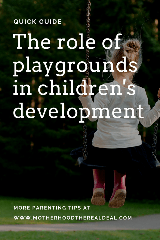 The role of playgrounds in children's development
