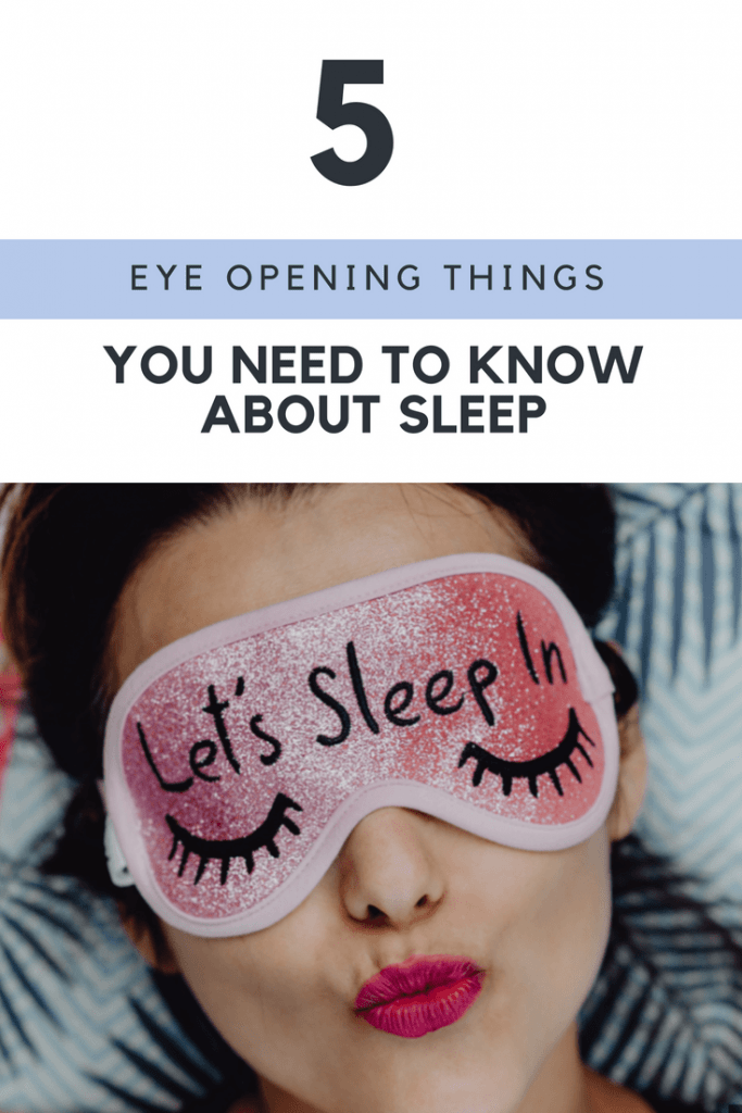 need to know about sleep
