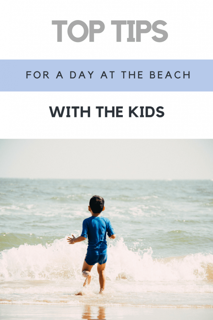 Top tips for a day at the beach with the kids