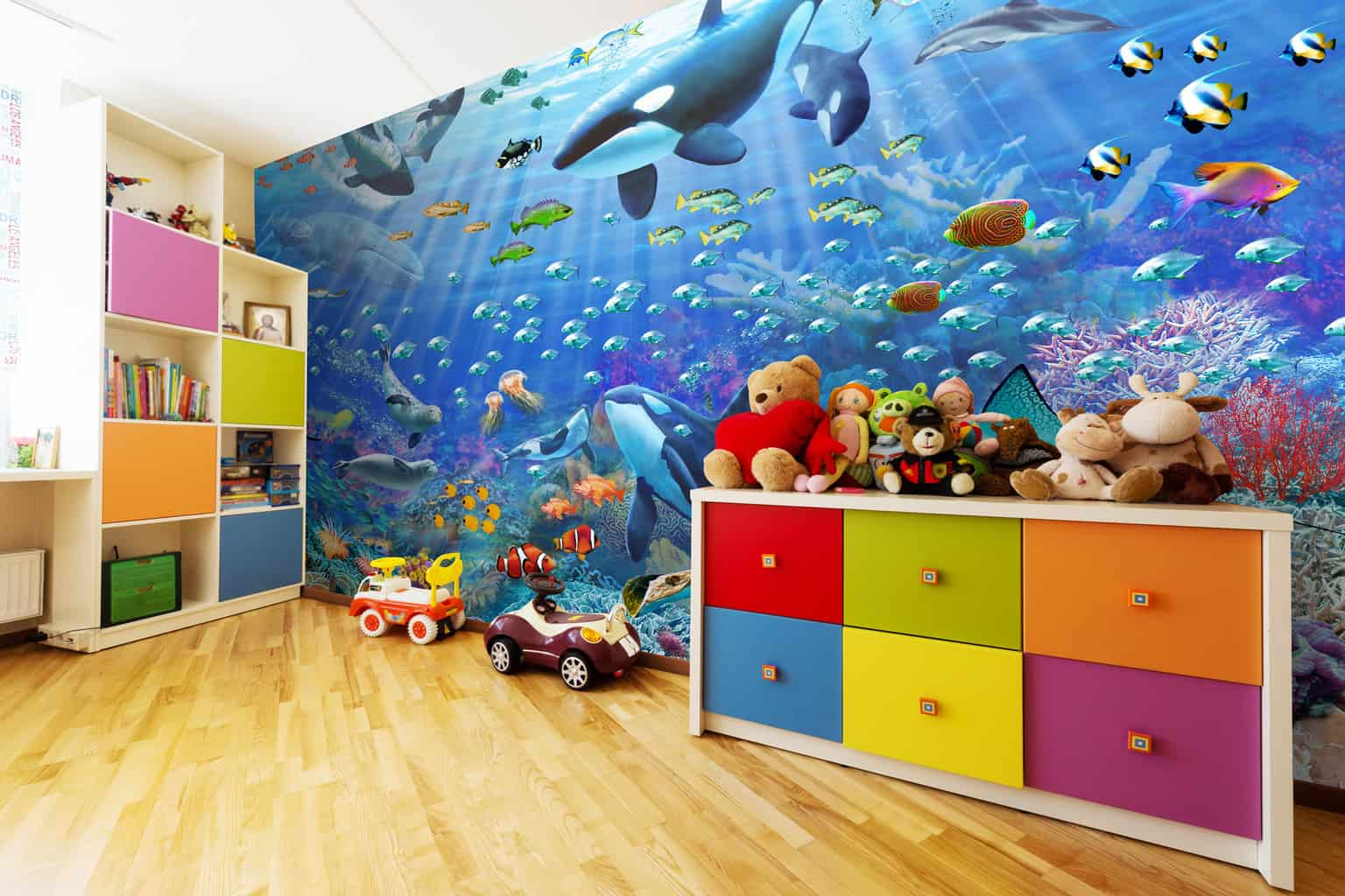 5 Wonderful Children's Wall Murals To Teach Them About The