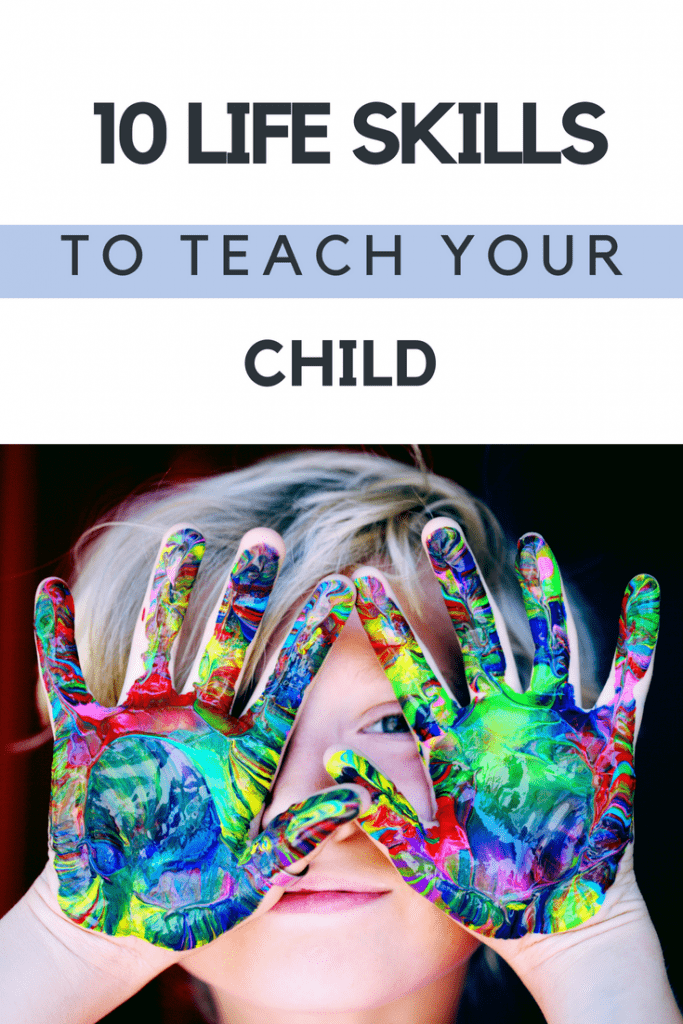10 skills to teach your children to prepare them for the outside world