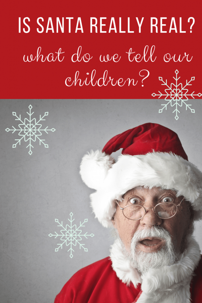 Is Santa really real? What do we tell our Children? #Christmas
