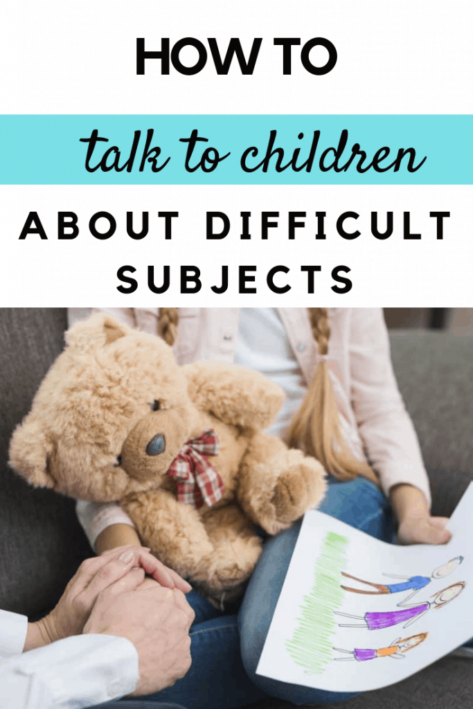 How to talk to your children about difficult subjects #parenting #parents #parentingtips