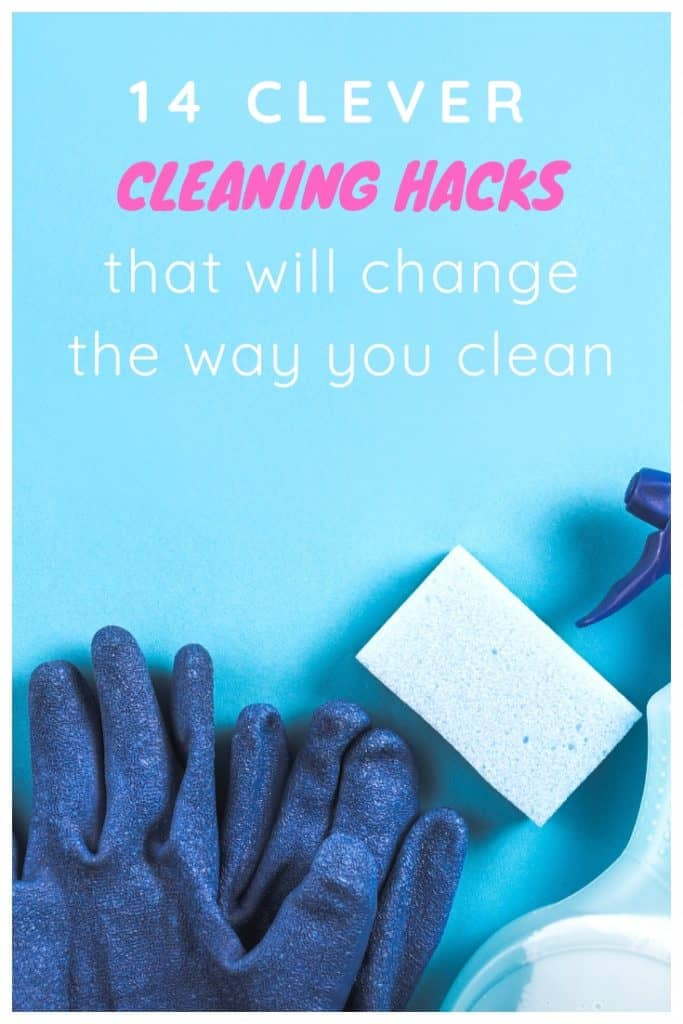 14 clever cleaning hacks that will change the way you clean #cleaningtips #cleaning