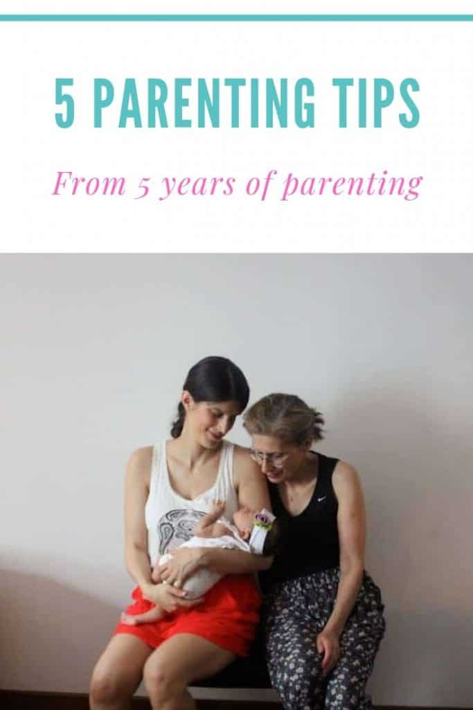 5 parenting tips from 5 years of parenting