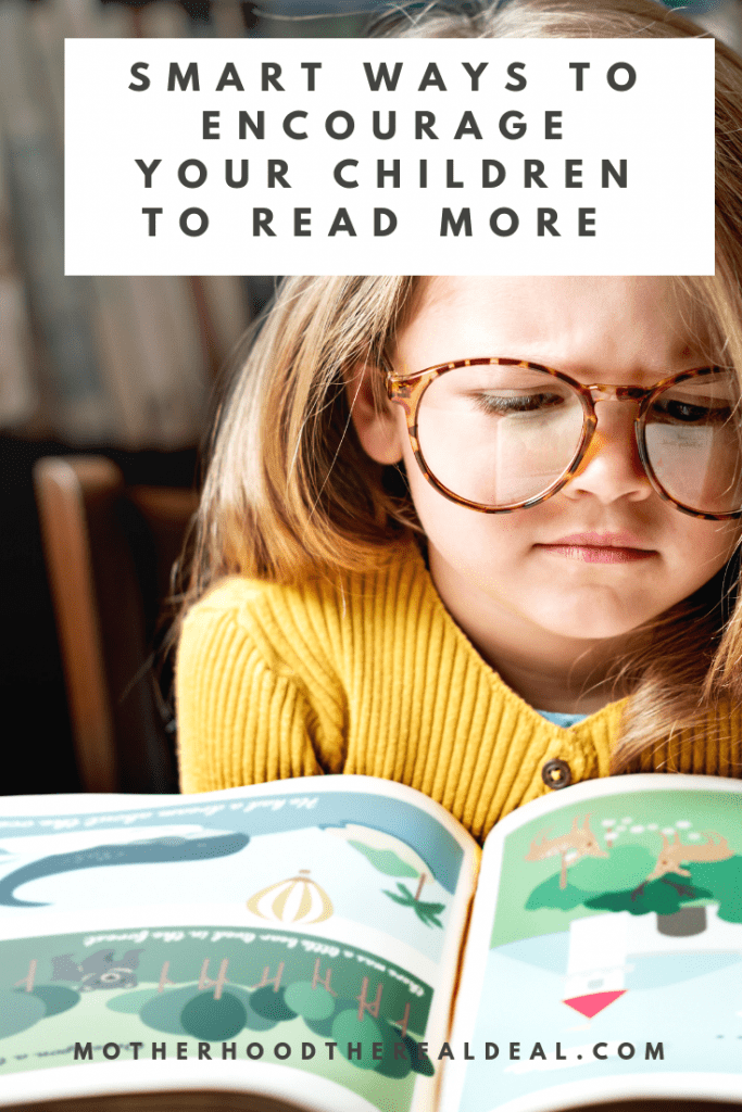 Smart ways to encourage your children to read more #literacy #parentingtips