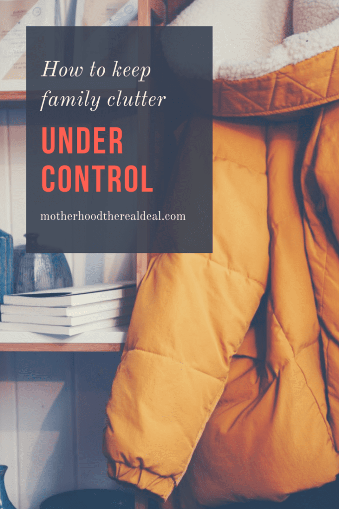 How to keep family clutter under control #clutter #interiors