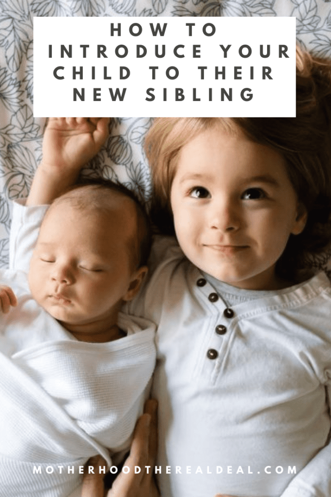 How to introduce your child to their new sibling #parenting #parentingtips #baby