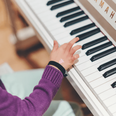 child started with the piano