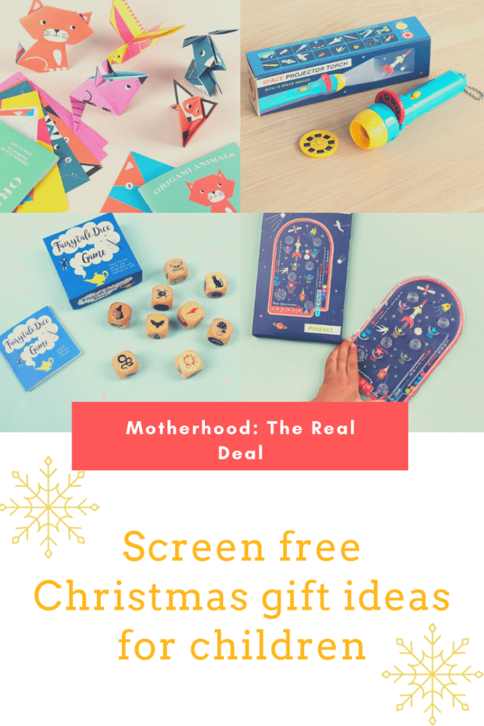 Screen-free Christmas gift ideas for children #giftideas #Christmasgifts #giftguide
