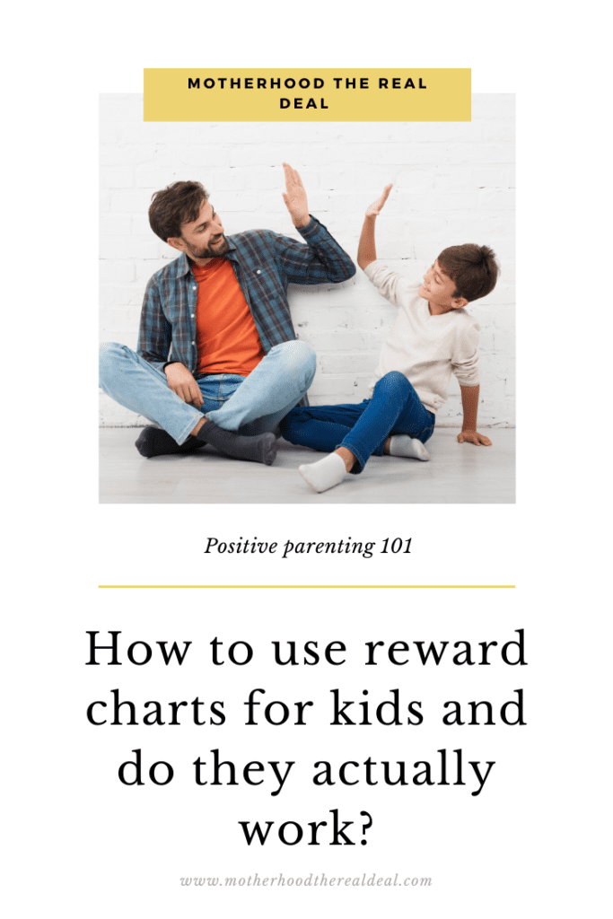 How to use reward charts for kids and do they actually work? #rewardcharts #parentingtips #parenting