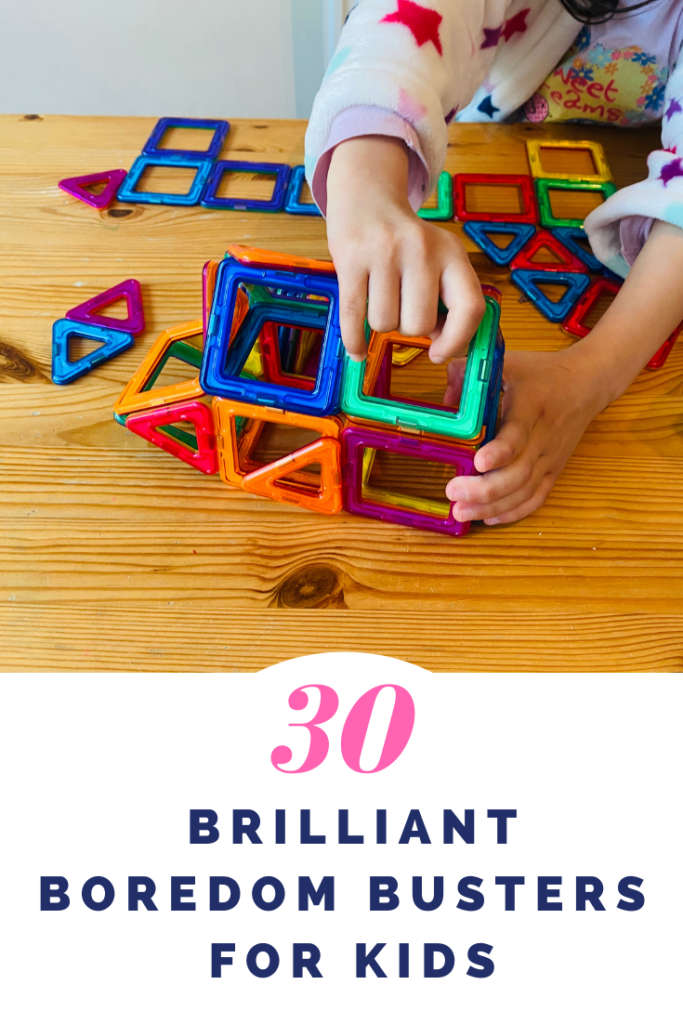 Brilliant boredom busters for kids #parenting #kids