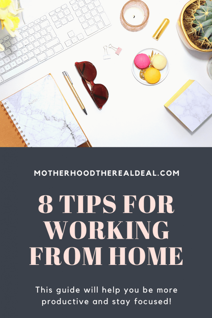 8 tips for working from home #workfromhome #productivity #motivation