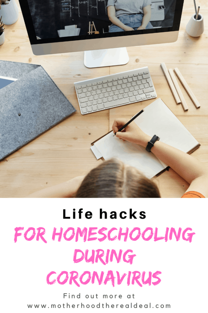 Life hacks for homeschooling during Coronavirus #homeschooling #coronavirus #homeschool
