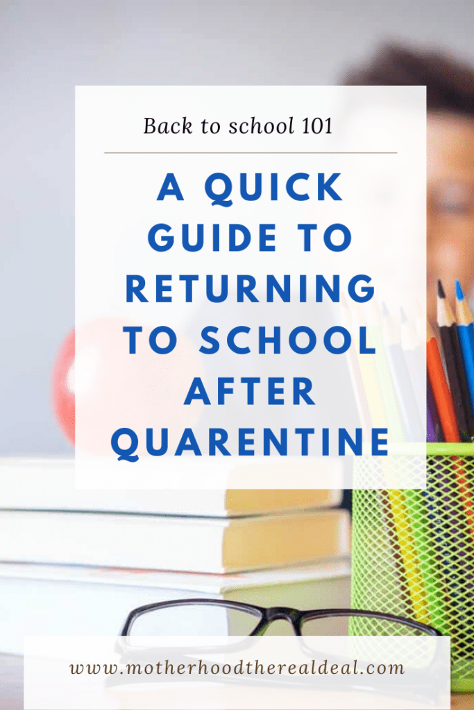 A quick guide to returning to school after quarentine #backtoschool #quarentine #covid #covid19 #returntoschool #schoollife #education