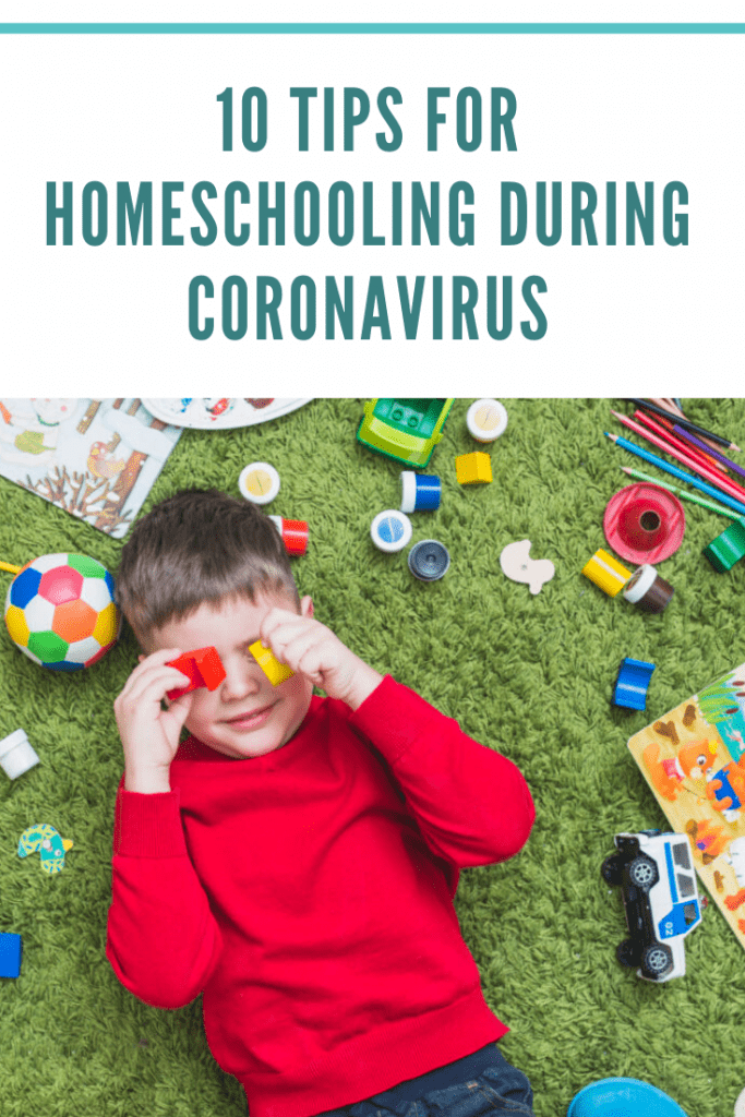 10 tips for homeschooling during Coronavirus #homeschool #homeschooling