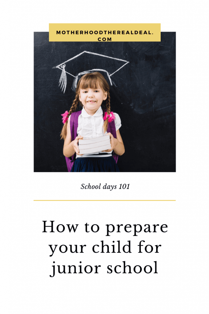 How to prepare your child for starting junior school #schooldays #school #schoollife #startingschool