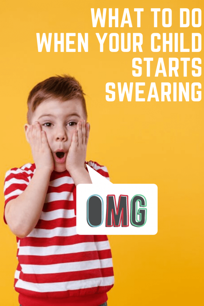 What to do when your child starts swearing #parenting #parentingtips #parentinghelp